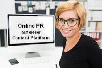 Öffentlichkeitsarbeit auf dieser Content Plattform